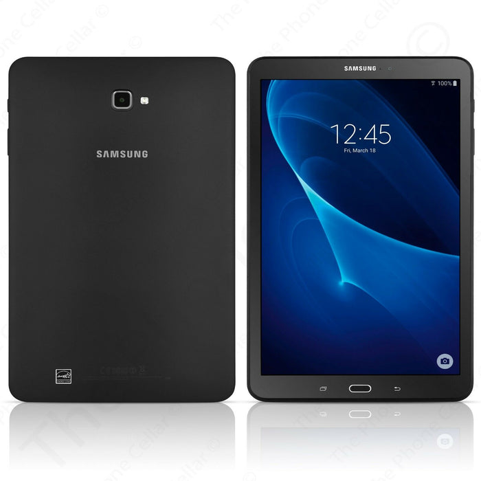 "Samsung Galaxy Tab A, 10.1"", 16GB Memory, Wi-Fi Only, SM-T580 - Black (Certified Refurbished)"