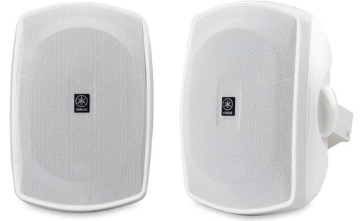 "Yamaha Natural Sound 6-1/2"" 2-Way All-Weather Outdoor Speakers - Pair - White (Certified Refurbished)"