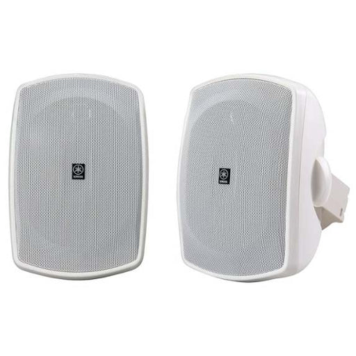 "Yamaha Natural Sound 5"" 2-Way All-Weather Outdoor Speakers, Pair - White (Certified Refurbished)"