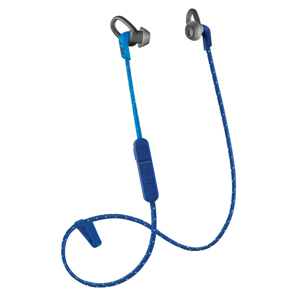 Plantronics BackBeat FIT 305 Wireless In-Ear Headphones - Dark Blue (Certified Refurbished)