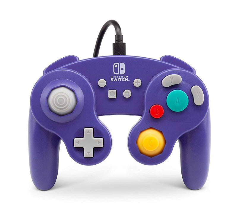 PowerA GameCube Style Wireless Controller For Nintendo Switch - Purple (Certified Refurbished)