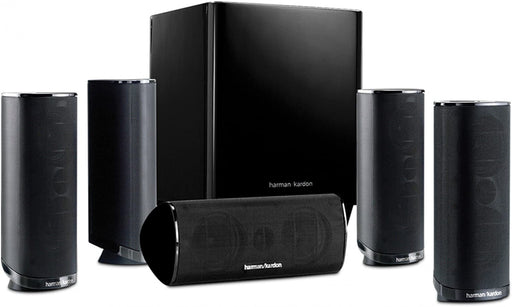 Harman Kardon HKTS 16BQ 5.1 Channel Home Theater Speaker - Black (Certified Refurbished)