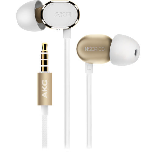 AKG N20 In-Ear Headphones with Active Noise Canceling - Gold (Certified Refurbished)