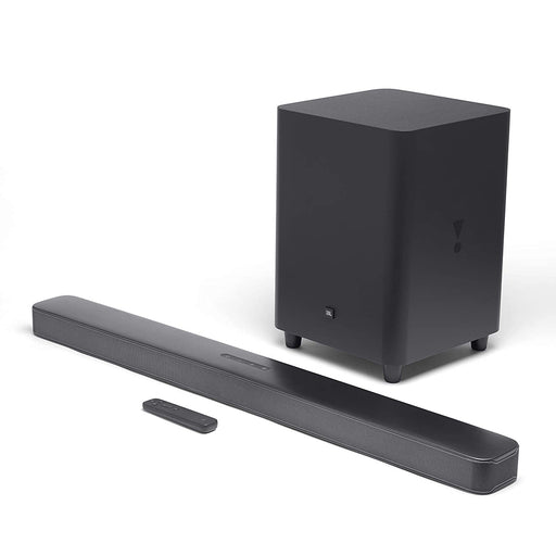 "JBL 5.1-Channel Soundbar System with 10"" Wireless Subwoofer - Black (Certified Refurbished)"