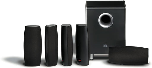 JBL 6-Piece High-Performance Complete Home Theater Speaker System - Black (Refurbished)