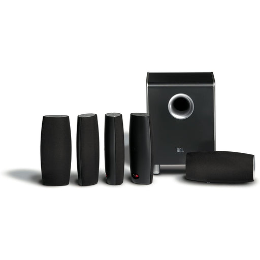 JBL 6-Piece Home Theater Speaker Package - Black (Certified Refurbished)