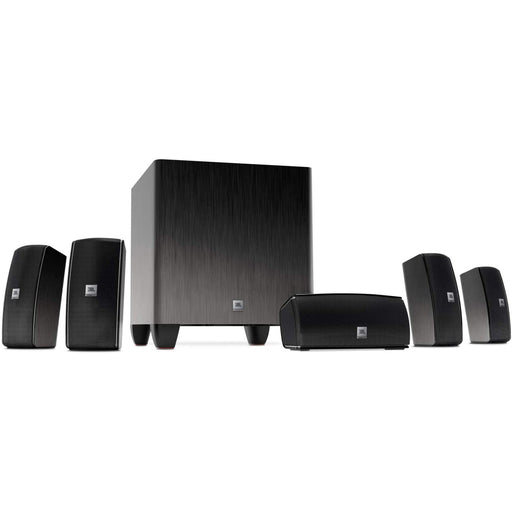 JBL Cinema 610 Advanced 5.1 Home Theater Speaker System with Powered Subwoofer (Certified Refurbished)