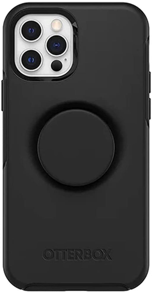 OtterBox + POP SYMMETRY SERIES Case for iPhone 12 / iPhone 12 Pro - Black (Certified Refurbished)