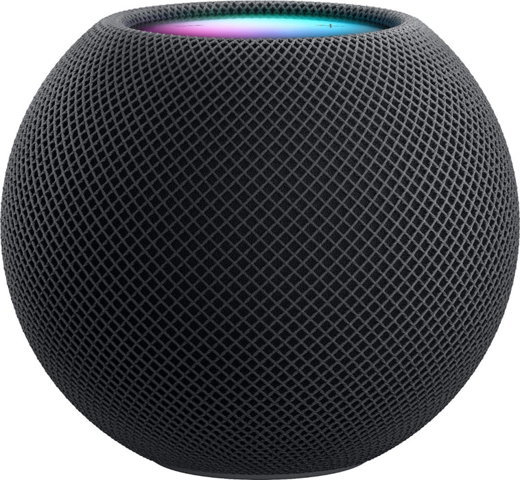 Apple HomePod Mini Voice-Activated Smart Speaker, MY5G2LL/A - Space Gray (Certified Refurbished)