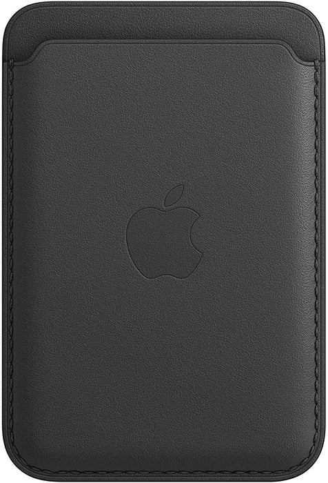 Apple Leather Wallet with MagSafe for iPhone, MHLR3ZM/A - Black (Certified Refurbished)