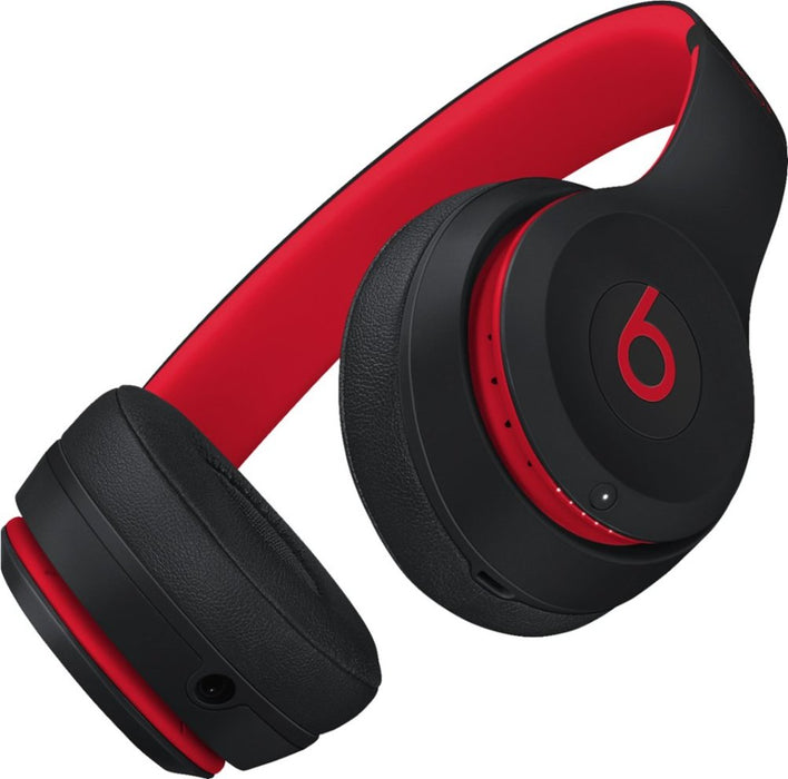 Beats By Dr. Dre Beats Solo3 Wireless On-Ear Headphones - Defiant Black-Red (Certified Refurbished)