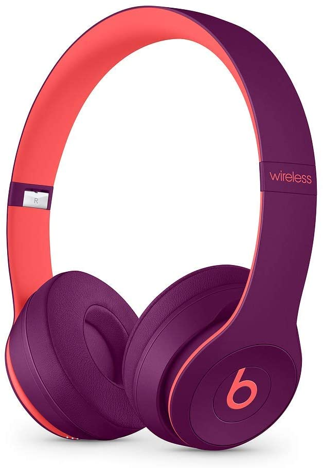 Beats Solo3 Wireless On-Ear Headphones - Pop Collection - Pop Magenta (Certified Refurbished)