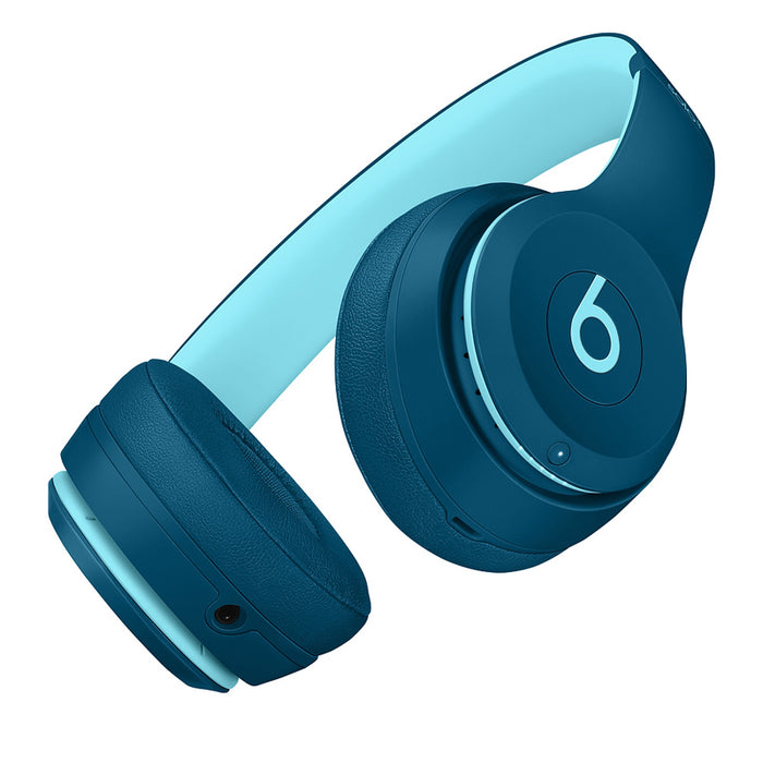 Beats Solo3 Wireless On-Ear Headphones - Beats Pop Collection - Pop Blue (Refurbished)