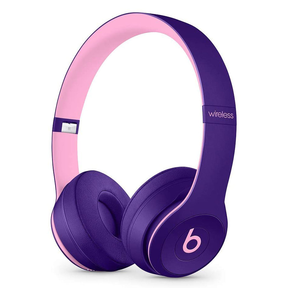 Beats Solo3 Wireless On-Ear Headphones - Beats Pop Collection - Pop Violet (Refurbished)