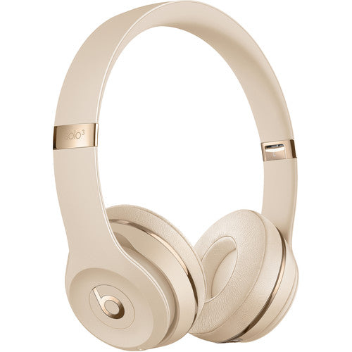 Beats By Dr. Dre Beats Solo3 Wireless On-Ear Headphones - Satin Gold (Certified Refurbished)