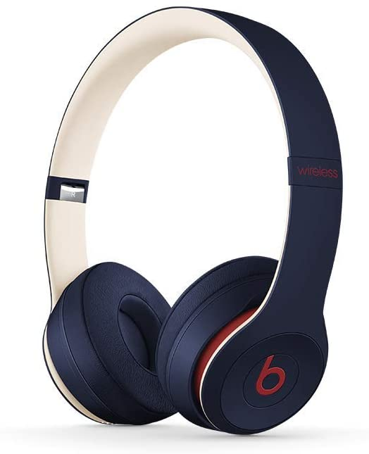 Beats By Dr. Dre Beats Solo3 Wireless On-Ear Headphones - Club Navy (Pre-Owned)