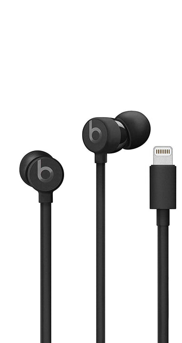 Beats UrBeats 3 by Dr. Dre Earphones with Lightning Connector - Black (Certified Refurbished)