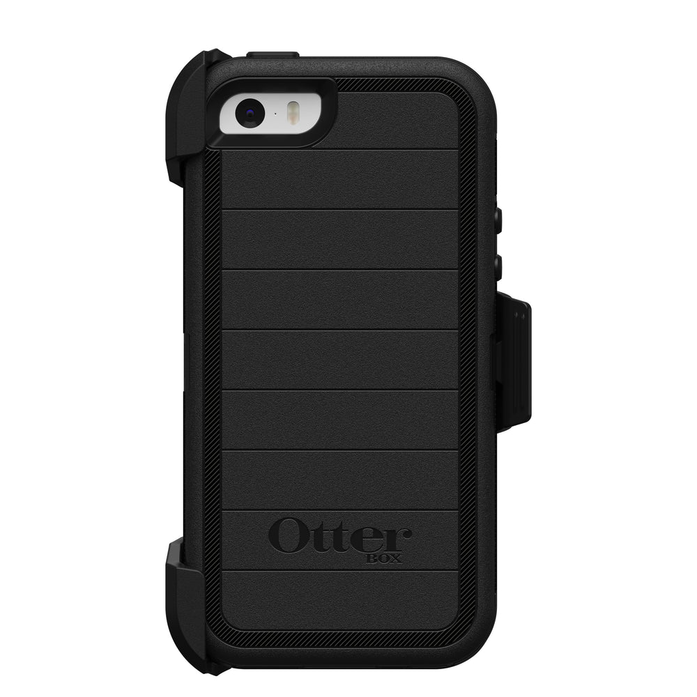 OtterBox DEFENDER SERIES Case & Holster for iPhone 5 / 5S / SE - Black