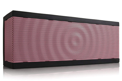 BOHM SoundBlock Custom Base Bluetooth Speaker - Pink w/ Black Gel