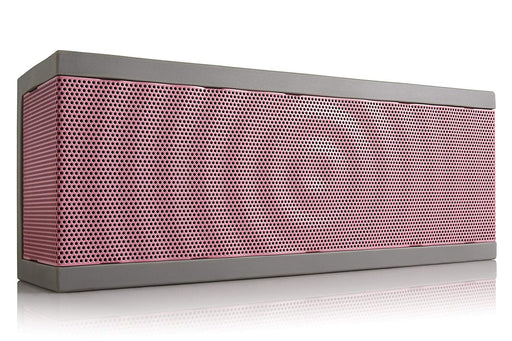 BOHM SoundBlock Custom Base Bluetooth Speaker - Pink w/ Gray Gel