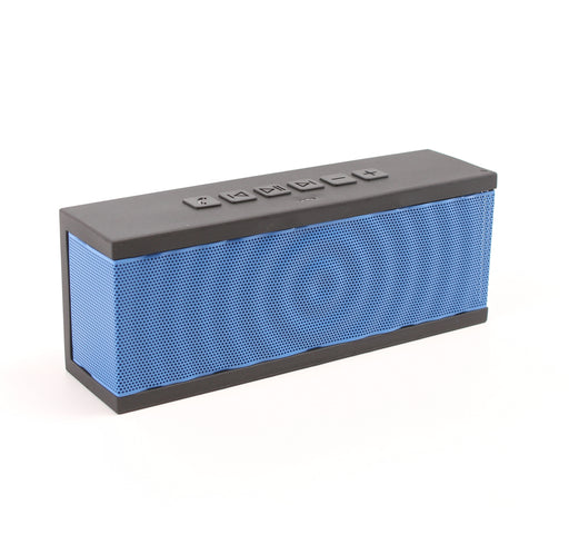BOHM SoundBlock Custom Base Bluetooth Speaker - Blue w/ Black Gel