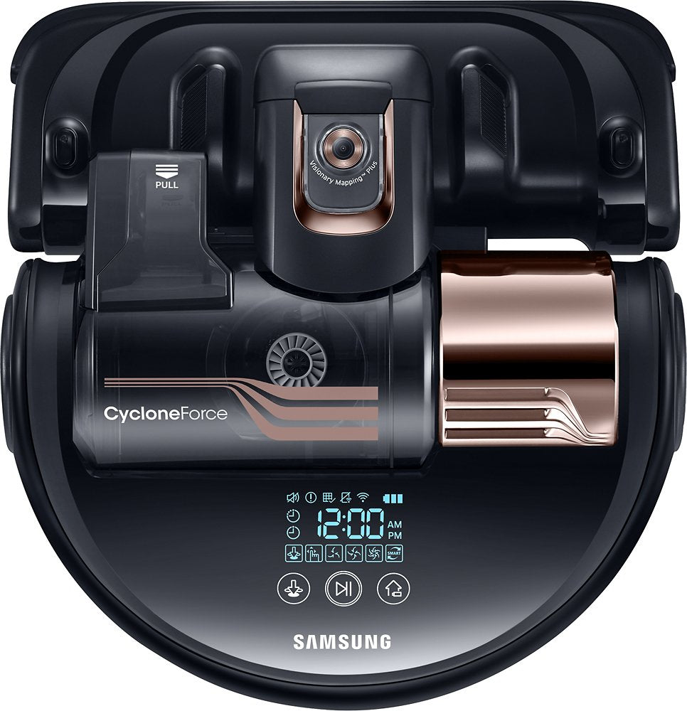 Samsung POWERbot Turbo App-Controlled Self-Charging Robot Vacuum - Obsidian Copper (Refurbished)