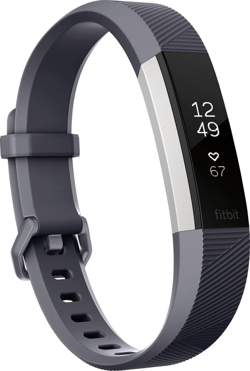 Fitbit Alta HR Activity Tracker + Heart Rate - Small - Blue / Gray