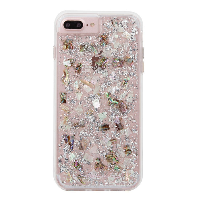 Case-Mate Naked Tough Case for iPhone 8 Plus (ONLY) - Karat Pearl