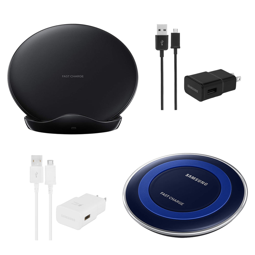 Samsung Wireless Charging Bundle includes EP-PN920 & EP-PG950 - Black