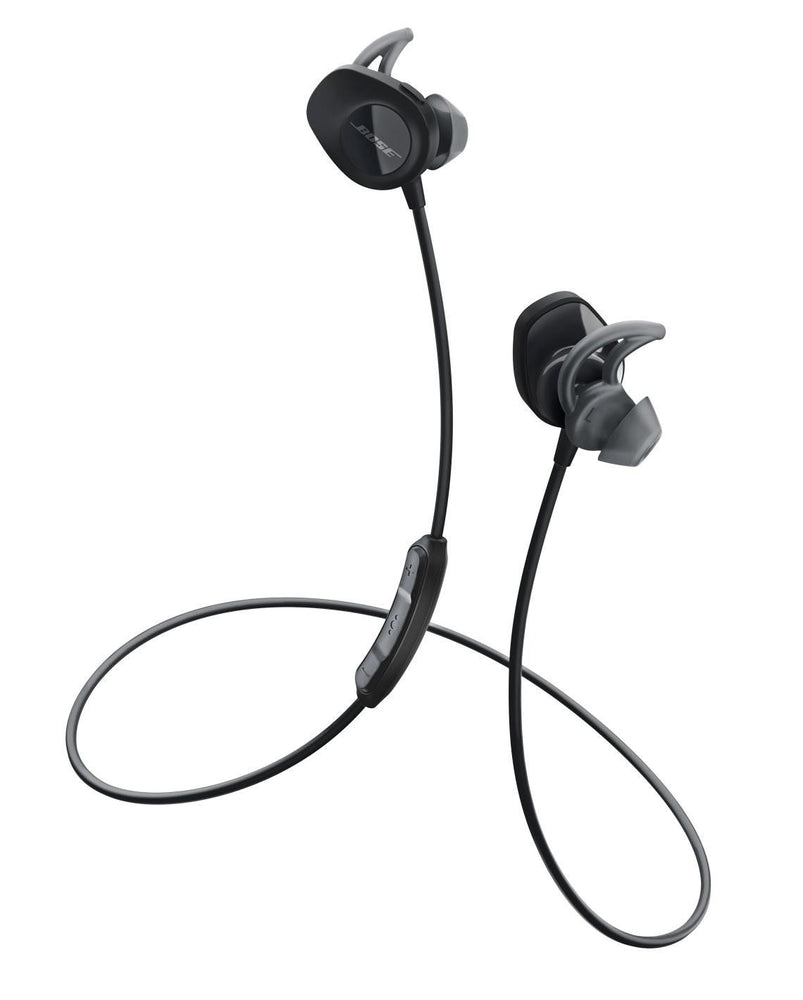 Bose SoundSport Wireless Sweat-Resistant In-Ear Headphones - Black