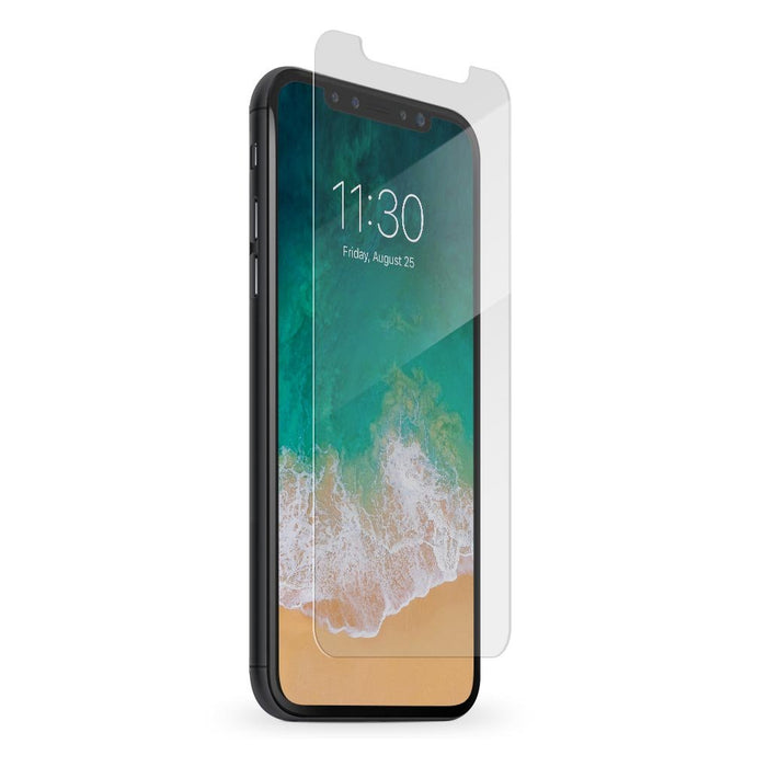 BodyGuardz Pure2 iPhone X / XS Glass Screen Protector - Clear