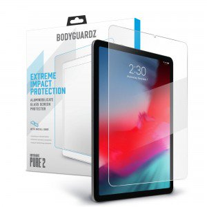 BodyGuardz Pure2 Tempered Glass Screen Protector for iPad Pro 11""