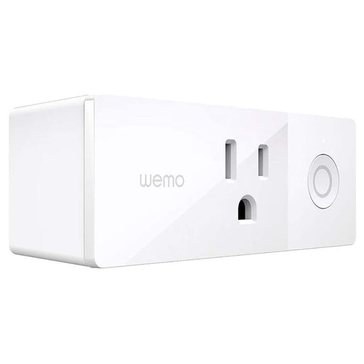 Wemo Mini Smart Plug WiFi Enabled, Works with Alexa & Google Assistant - White