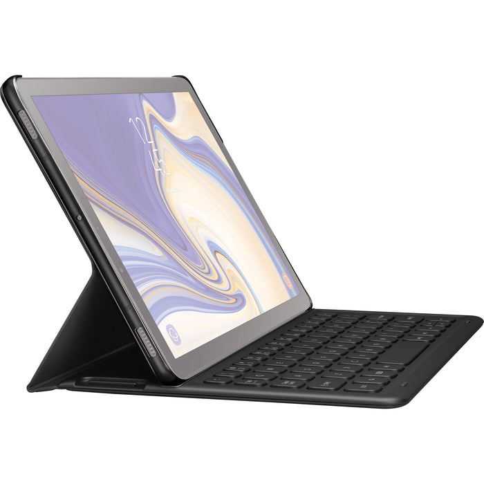 Samsung Galaxy Tab S4 Book Cover Keyboard - Black
