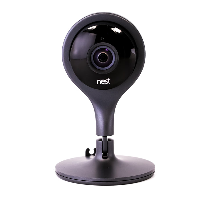 Google Nest Cam Indoor Wired Home Security Camera - Black