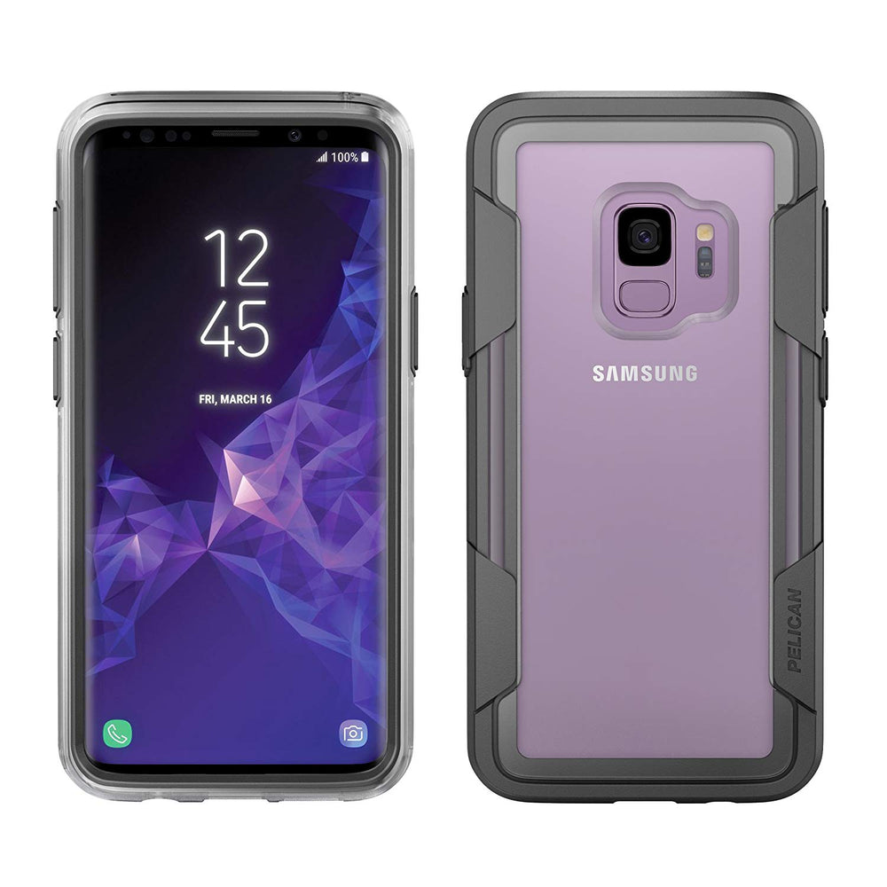 Pelican Voyager Case for Galaxy S9 (ONLY) - Clear
