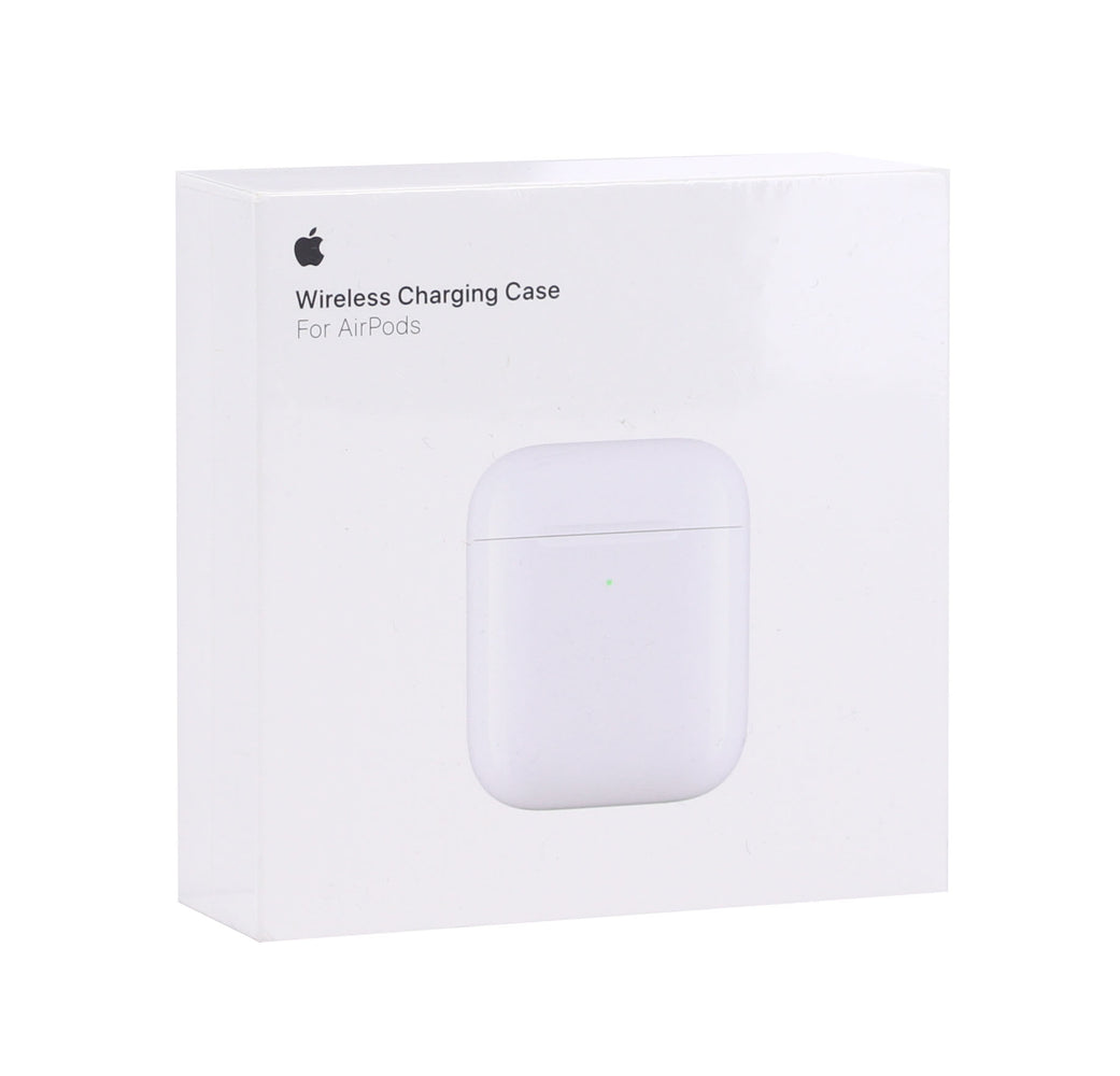 Apple Wireless Charging Carrying Case For Airpods - White