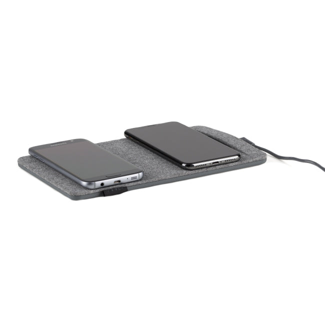 TYLT Dual Wireless Charging Pad - Gray