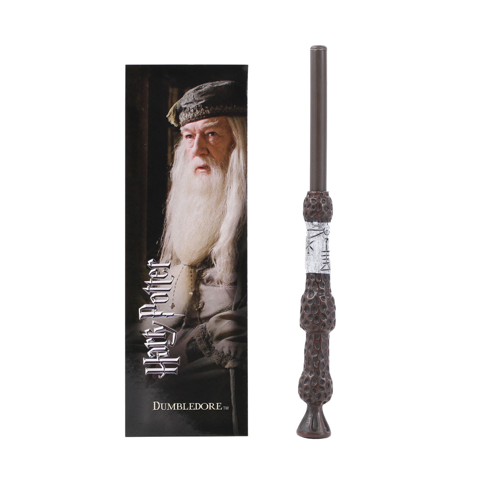 Harry Potter Dumbledore Wand Pen and Bookmark Brown