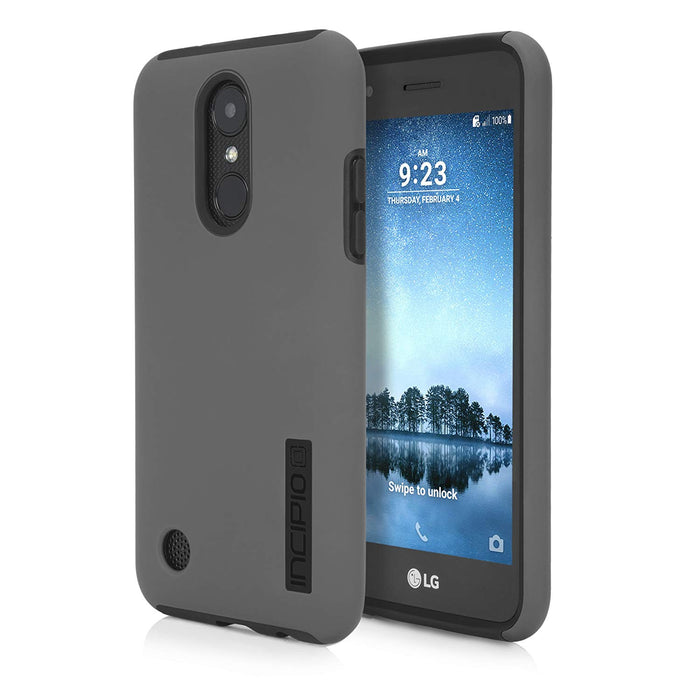 Incipio Dual Pro Case for LG Phoenix 3 (ONLY) - Gray
