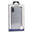 Bondir Clear Coat Case for iPhone XR (ONLY) - Silver