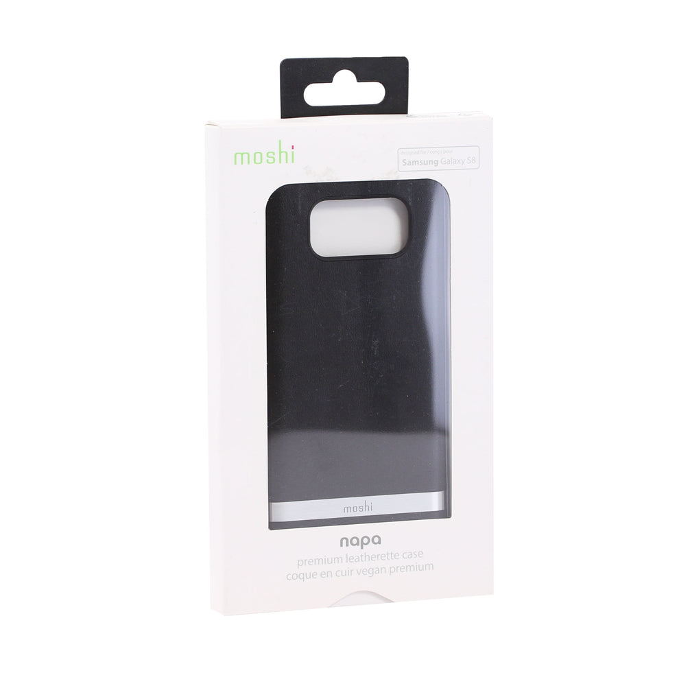 Moshi Napa Case for Samsung Galaxy S8 (ONLY) - Black