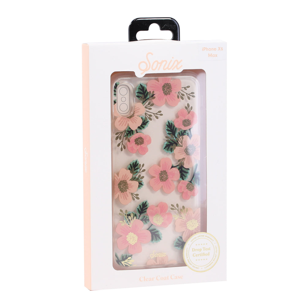 Sonix Clear Coat Case for iPhone XS Max (ONLY) - Floral
