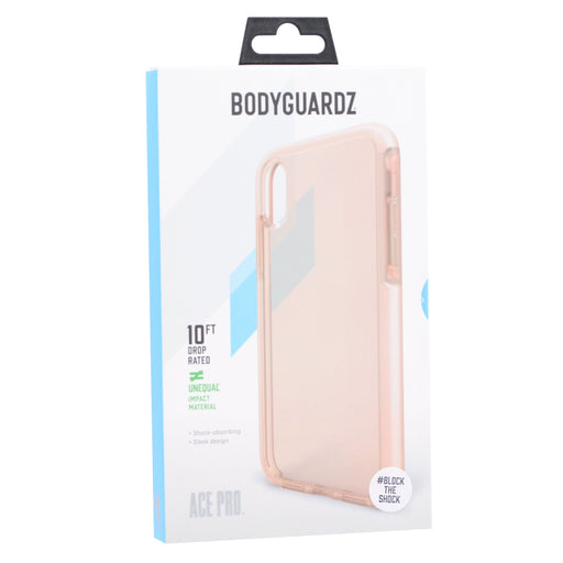 BodyGuardz Ace Pro Case for iPhone XS Max (ONLY) - Pink