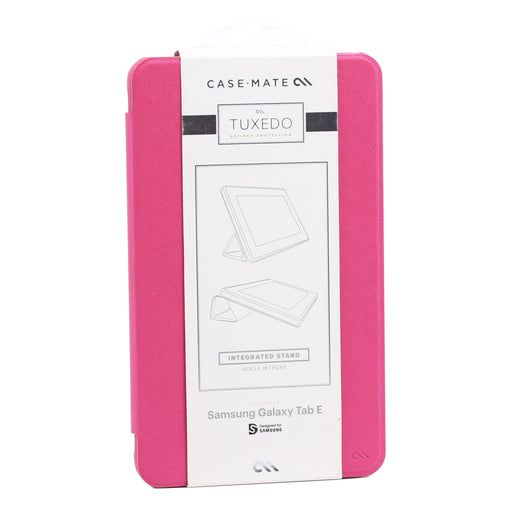 Case-Mate Tuxedo Folio Case for Samsung Galaxy Tab E - Pink