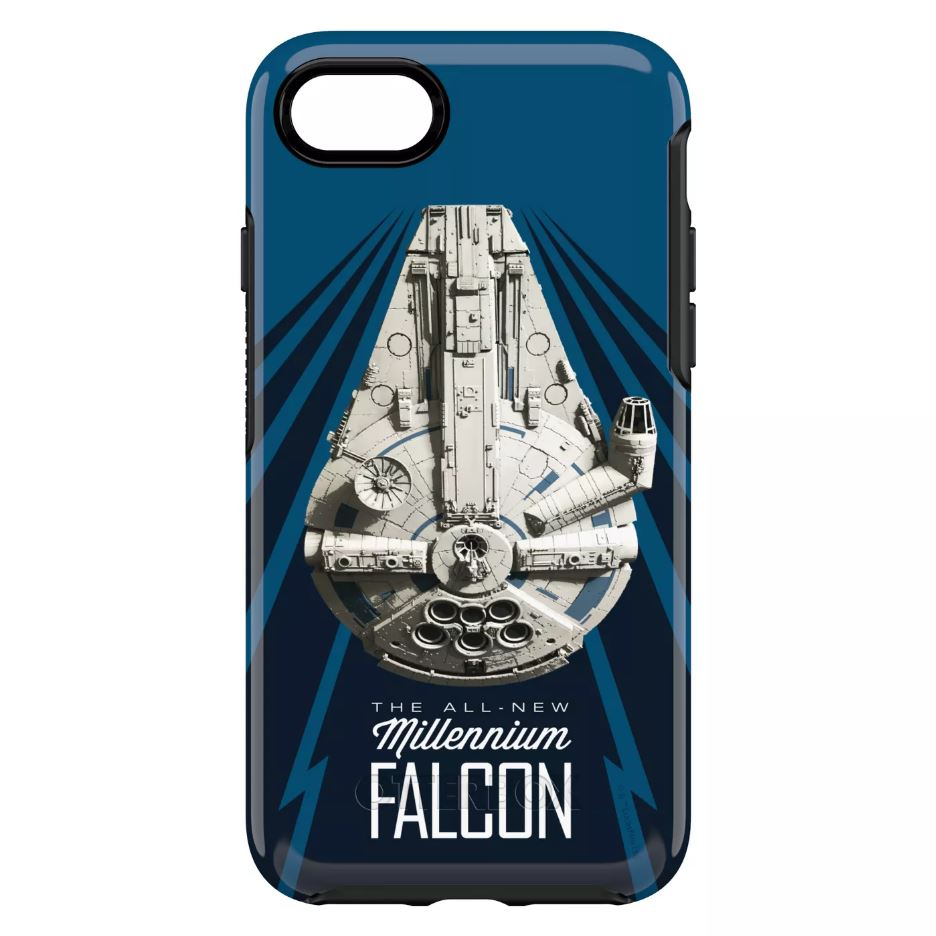 OtterBox SYMMETRY SERIES Case for Case for iPhone 8 / 7 (ONLY) - A Star Wars Story - Millennium Falcon