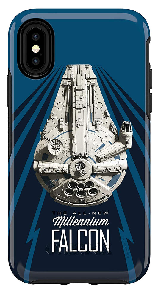 OtterBox SYMMETRY SERIES Case for iPhone X / XS - A Star Wars Story - Millennium Falcon