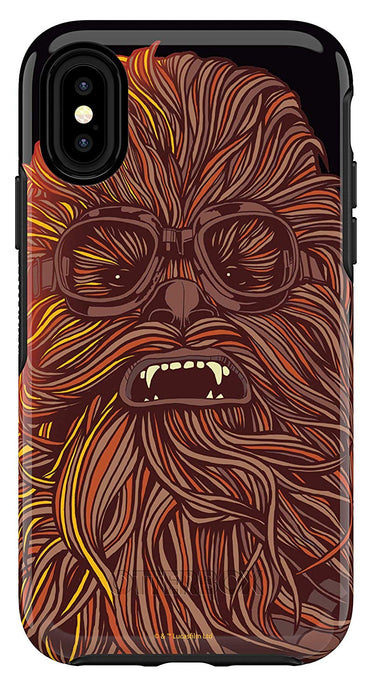 OtterBox SYMMETRY SERIES Case for iPhone X / XS - A Star Wars Story - Chewbacca