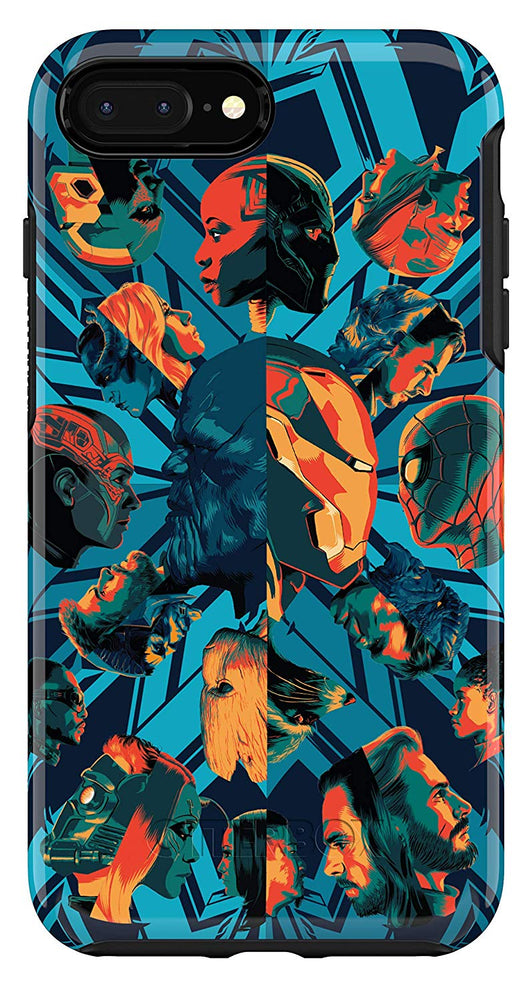 OtterBox SYMMETRY SERIES Case for iPhone 8 Plus / 7 Plus - Marvel Avengers Case - Assemble