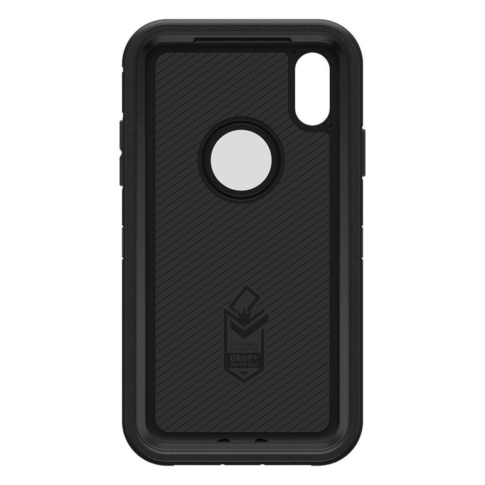 OtterBox DEFENDER SERIES Case & Holster for iPhone XR (ONLY) - Black